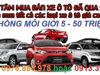 Chuyên Thu Mua các loại xe Ô TÔ Cũ từ 4 chỗ, 8 chỗ, 16 chỗ đến 45 Chỗ